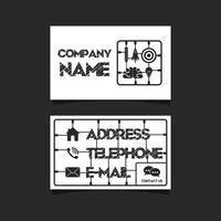 kit de cartão de visita