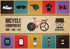 retro bike equipment