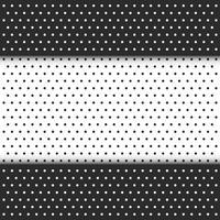 svart och vit prick