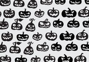 Sfondo di zucca di Halloween