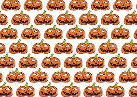 Fond de citrouille d'Halloween