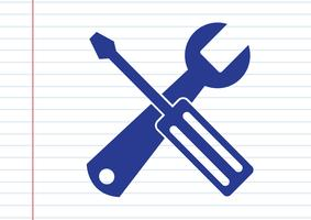 Werkzeugsymbol Symbol Zeichen