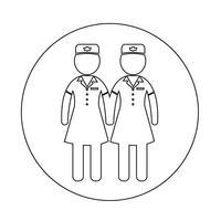 Air Hostess ikon