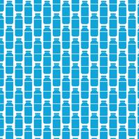 Pattern background water bottle icon