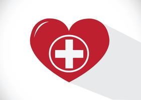 Icône médicale de coeur