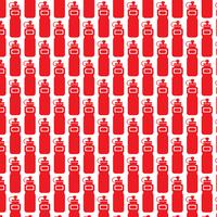 Pattern background sport water bottle icon