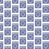 Washing machine pattern background vector