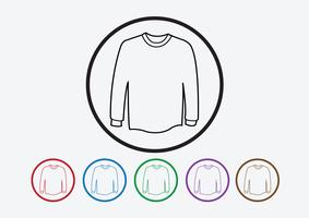 Apparel shirt and T-shirt Icon Clothing icons