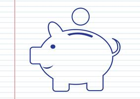Piggy bank  Symbol Sign