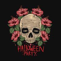 HALLOWEEN PARTY ART . File EPS, Editable Easy layering