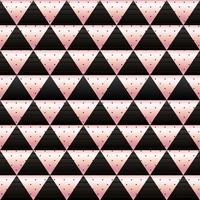 mosaic wallpaper in rose gold and black vector