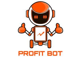 Roboter-Marketing-Maskottchen-Vektor