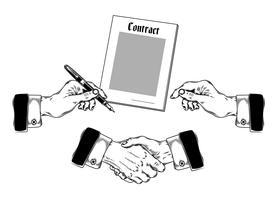 Conjunto de ícones mens mãos fazendo vários gestos