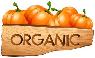 Segno organico con zucche
