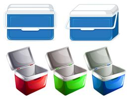 Set of ice container