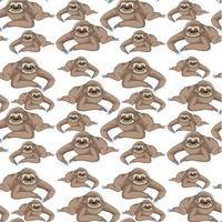 seamless sloth background wallpaper