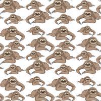 carta da parati senza cuciture di bradipo
