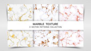 Texture marbre, ensemble Premium de la collection de modèles de vecteur.