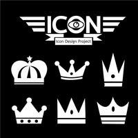 Crown icon  symbol sign