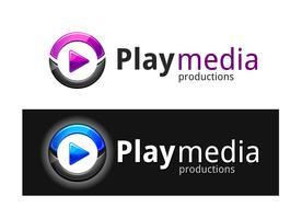 Play Media Logo vector