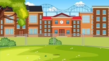 Una scena di scuola