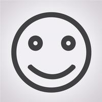 Glimlach pictogram symbool teken