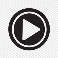 Speel pictogram symbool teken