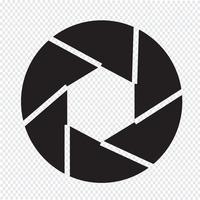 Diafragma pictogram symbool teken