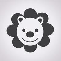 Lion Icon symbol sign