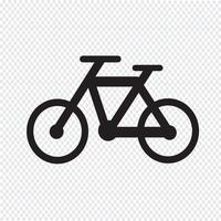 Bicycle icon  symbol sign