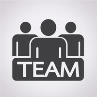 team pictogram symbool teken