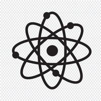 signe de symbole icône atome
