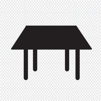 Table Icon  symbol sign