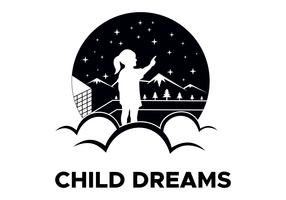 child dreams logo vector