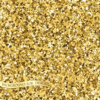 Textura de glitter dourados. Plano de fundo para seu projeto. Vetor