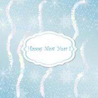 New Year card. Abstract Christmas festive background.