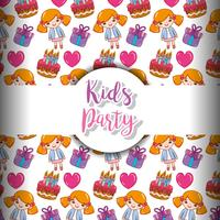 Kids party background