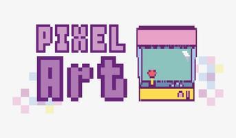 concetto di pixel art