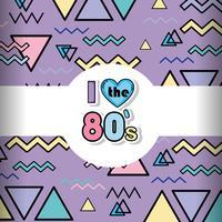 Sfondo di Memphis anni '80