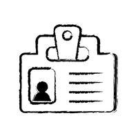 figura mensaje de estrategia de información de documento de negocios