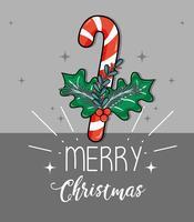 Dekorationsart der frohen Weihnachten zur Feier