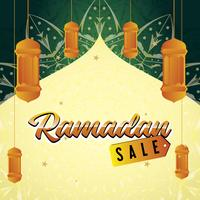 Ramadan Verkauf Banner Design