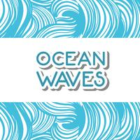 natural ocean waves background design