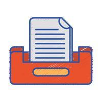 projeto de gabinete de arquivo de documentos buciness