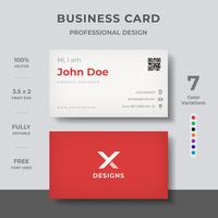 Clean Modern Business Card