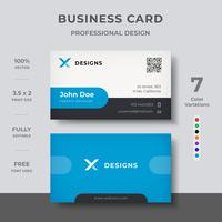 Clean Minima Business Card