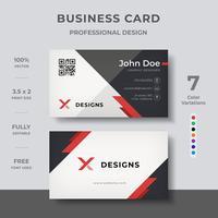 Cartão moderno