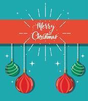 merry christmas decoration style to celebration