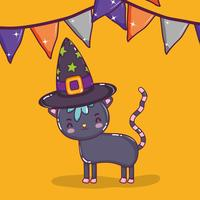 Halloween cat cartoons