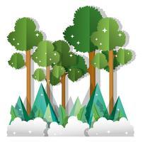 Papperskonstskog
